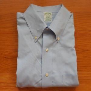 $100~BROOKS BROTHERS~Milano Fit Dress Shirt~16-33